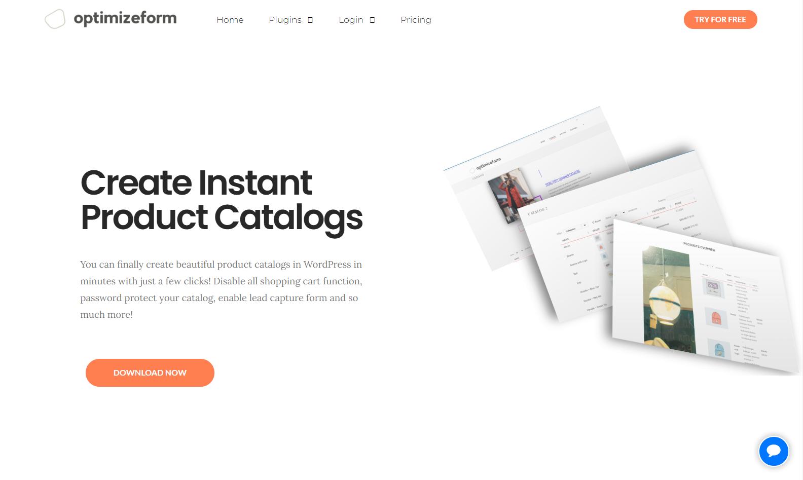 Optimizeform Catalog