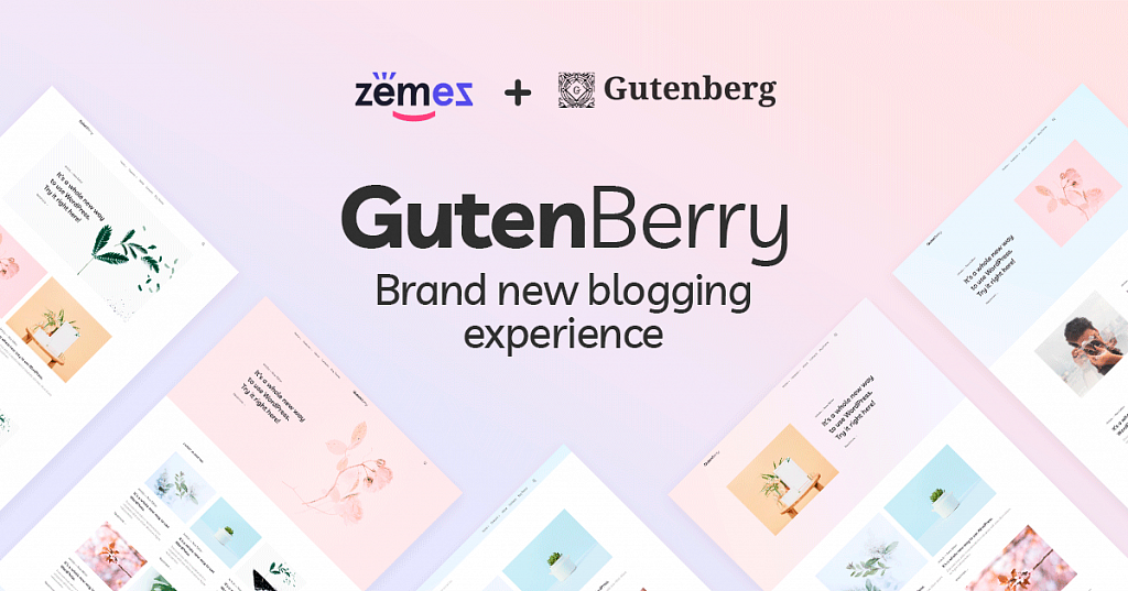 Gutenberry  WordPress Theme