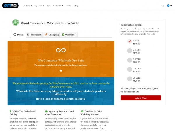 WooCommerce Wholesale Pro Suite