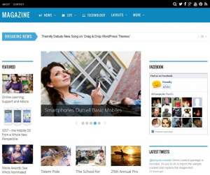 5 top SEO optimized WordPress themes magazine