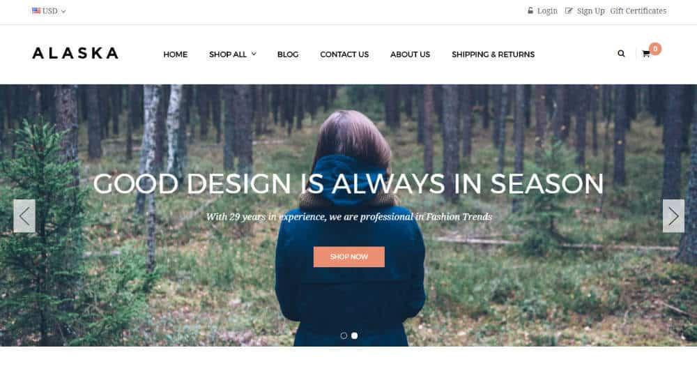 AP Alaska BigCommerce Theme