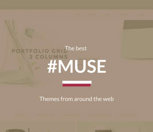 Best Adobe Muse Responsive Templates 2020