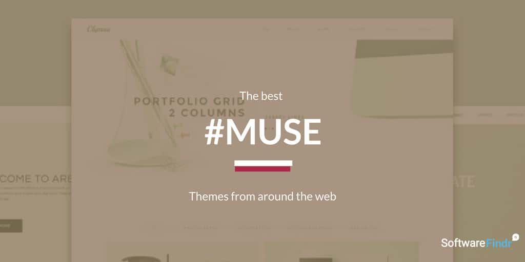 9 Best Adobe Muse Templates 2018 | SoftwareFindr
