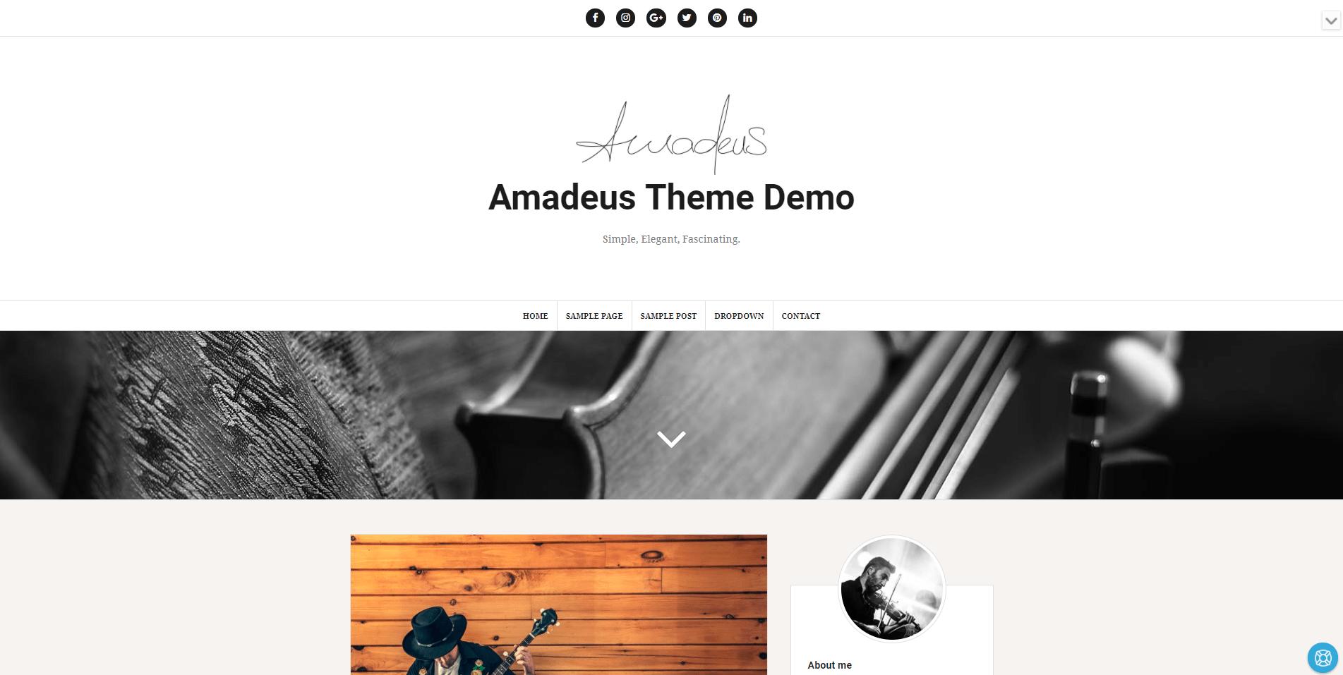 Amadeus Theme
