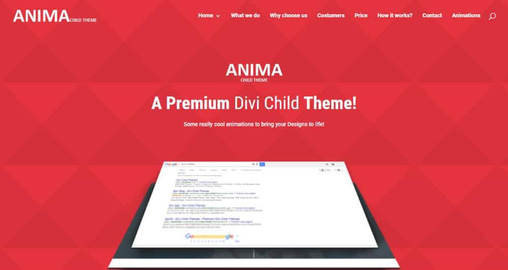 Anima Pro Theme