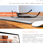 Accesspress Lite Theme