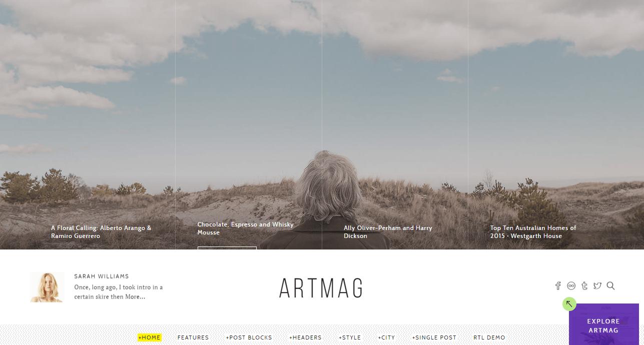 Artmag Theme