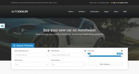AutoDealer Theme