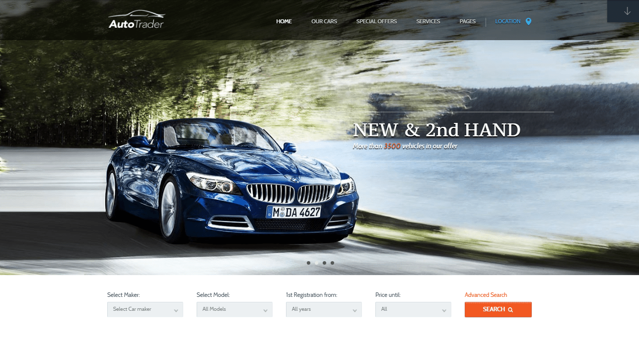 9 Best Automotive Dealer WordPress Themes 2018