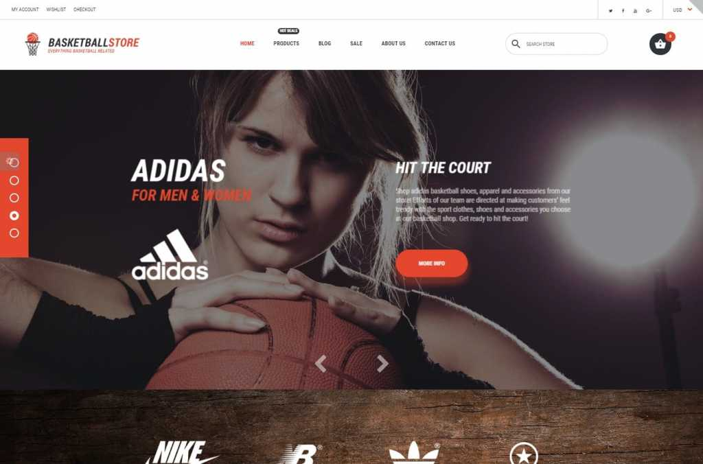 BasketStore Shopify Theme