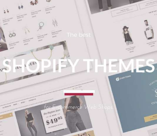 + Best Shopify Themes 2020