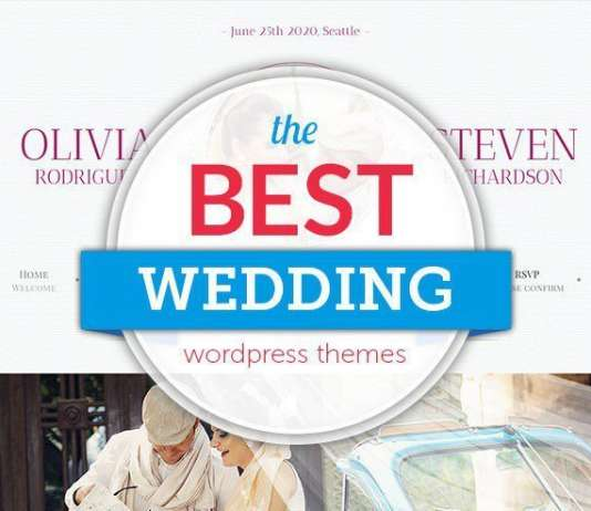 Best WordPress Wedding Themes 2019