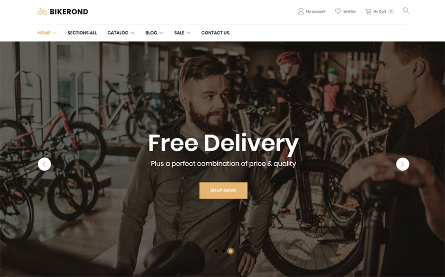BikeRond Shopify Theme