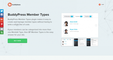 BuddyPress Member Types