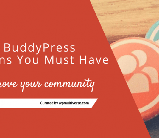 Best BuddyPress Plugins 2019 ( Reviewed by 2469 Community owners)