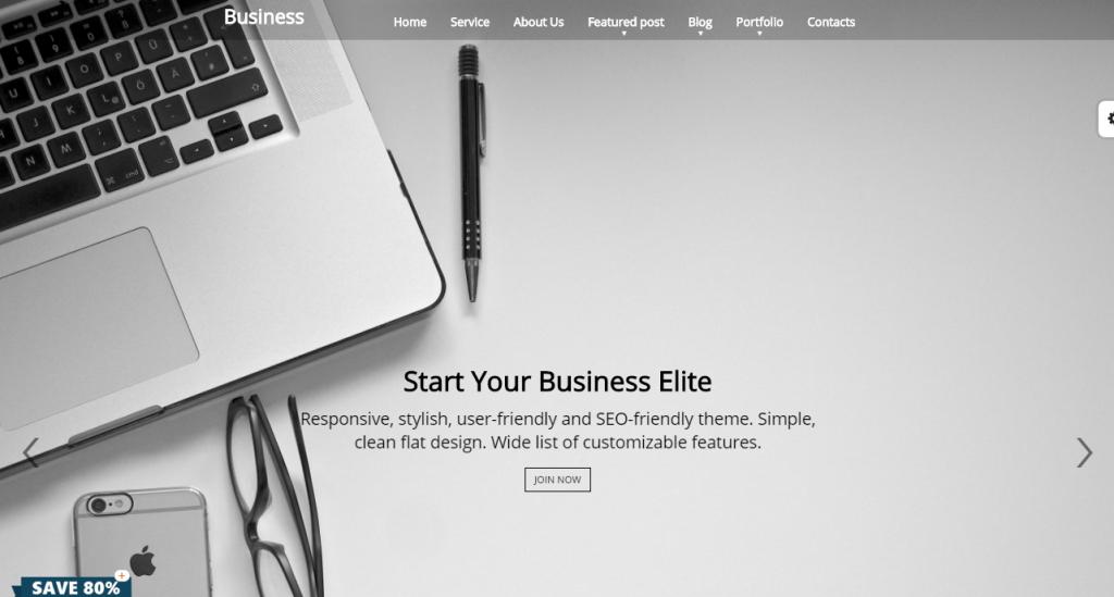 Business theme by web dorado