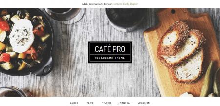 Café Pro Theme