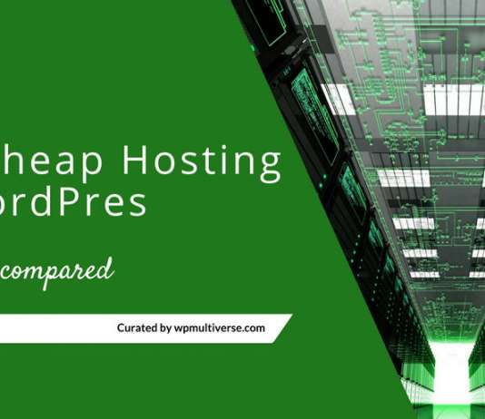 Best Cheap WordPress Hosting Providers 2019