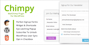 Chimpy Plugin for Wordpress