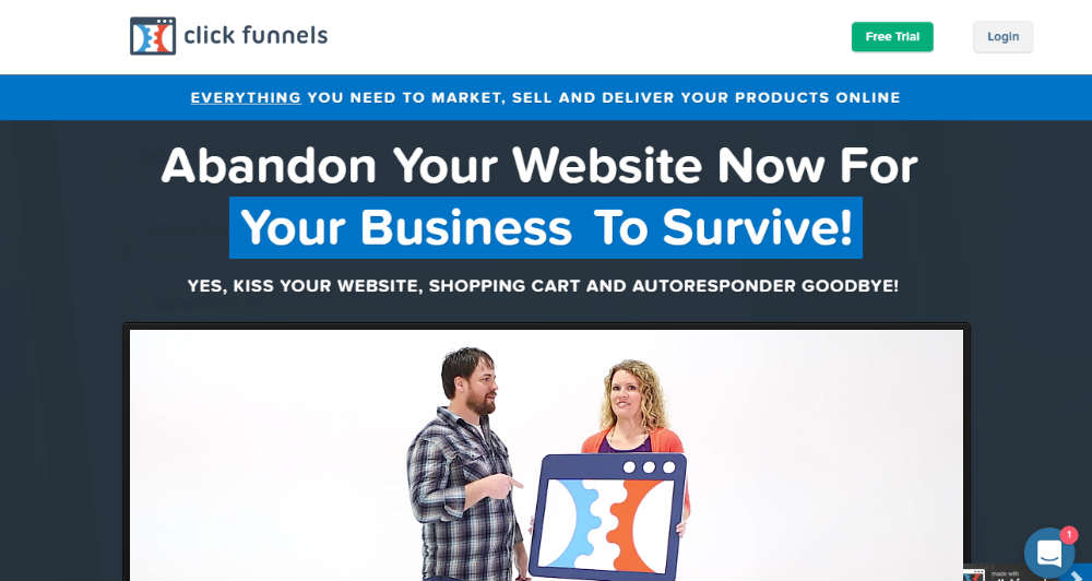 Clickfunnels Product Appearing When I Don'T Want It To
