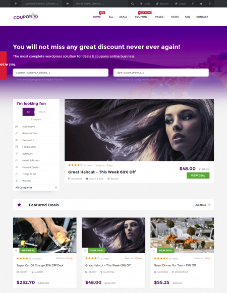 CouponXL Theme