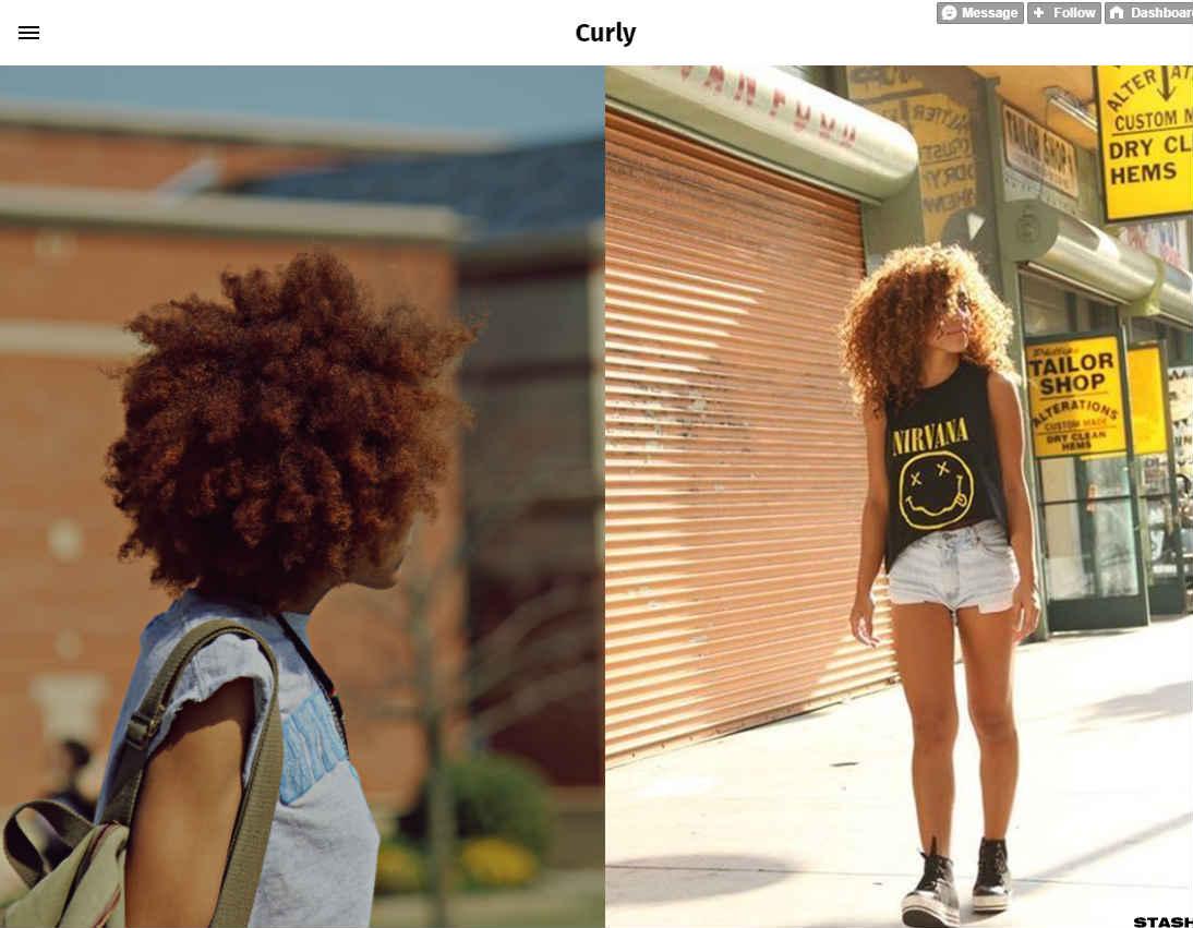 Curly Tumblr