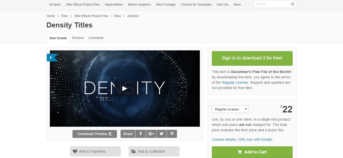 density-titles-videohive