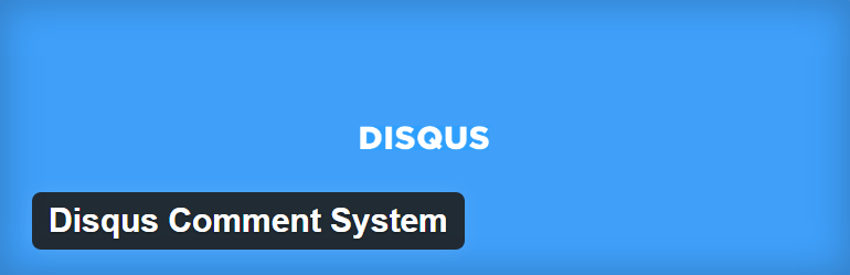 Disqus Comment System