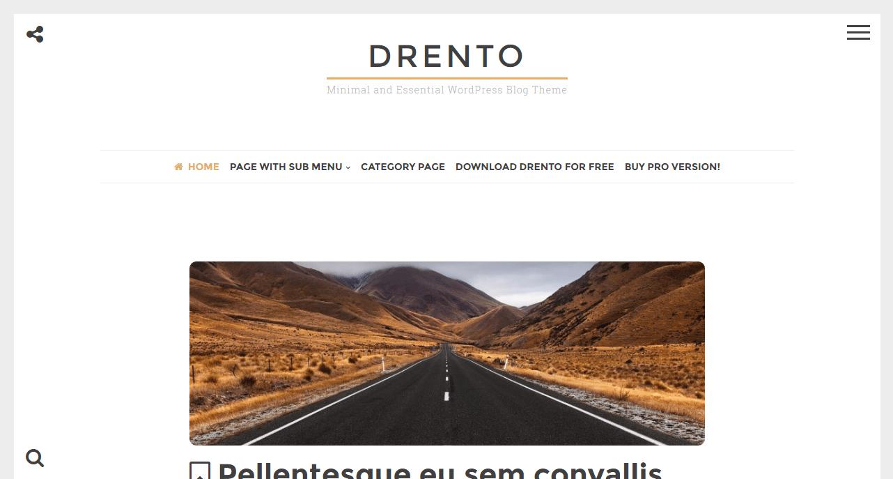 Drento Theme