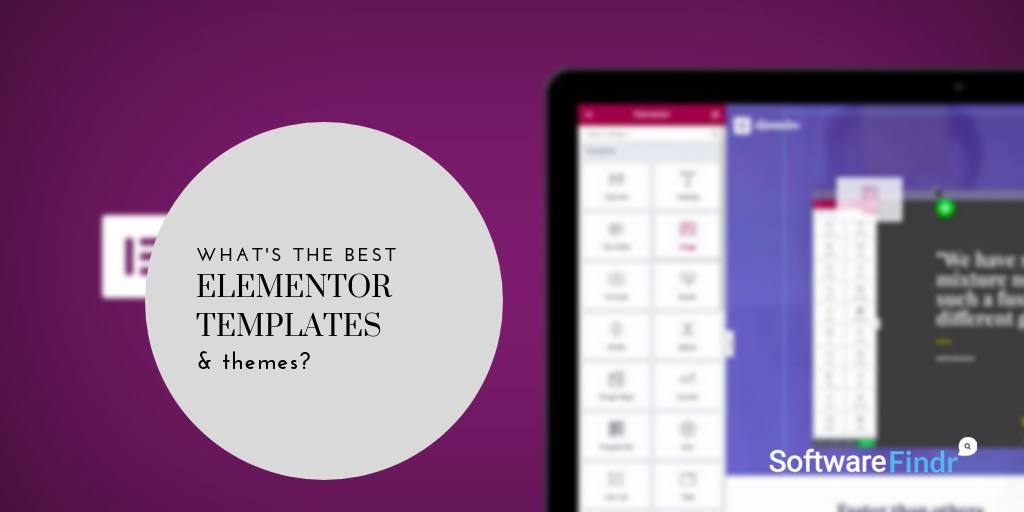 Best Elementor Templates & Themes (2019 Compared)