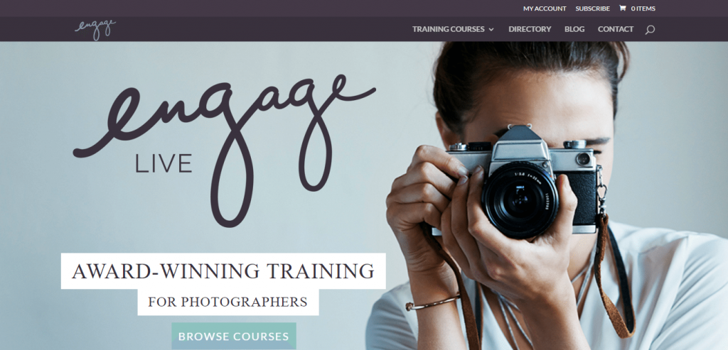Engage Live Photography Training