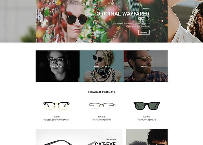Eye Glasses Shopify Theme