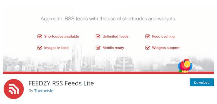 FEEDZY RSS Feeds WordPress Plugin Download & Review 2019