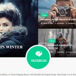 FaceBlog Theme