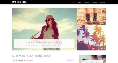 Fashion Blog Theme