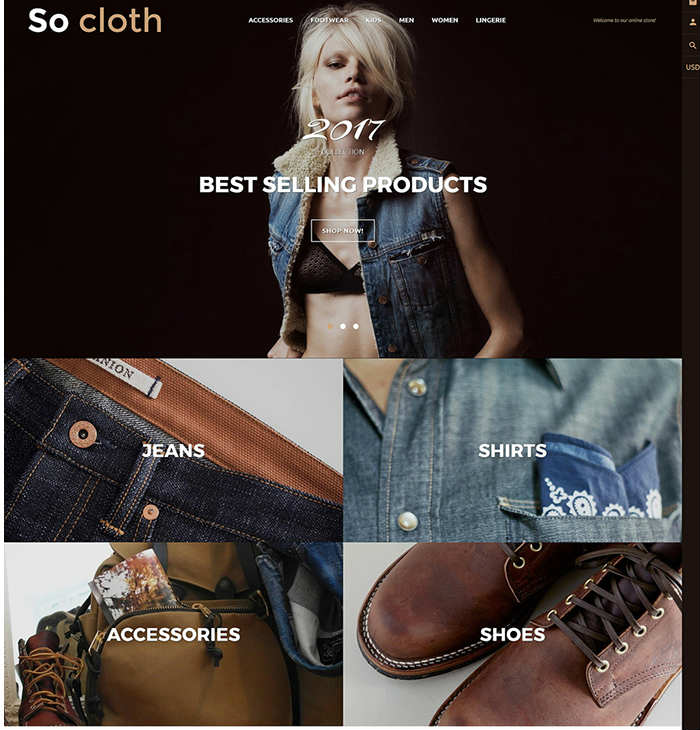 Fashion Store Shopify Theme