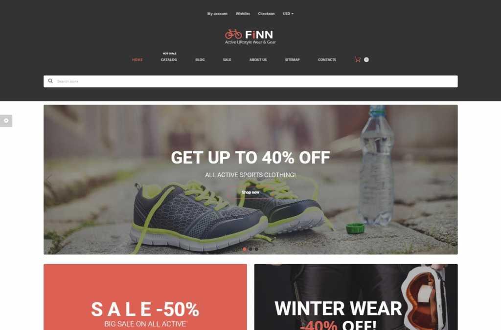 Finn Shopify Theme