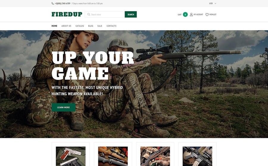 FiredUp Shopify Theme
