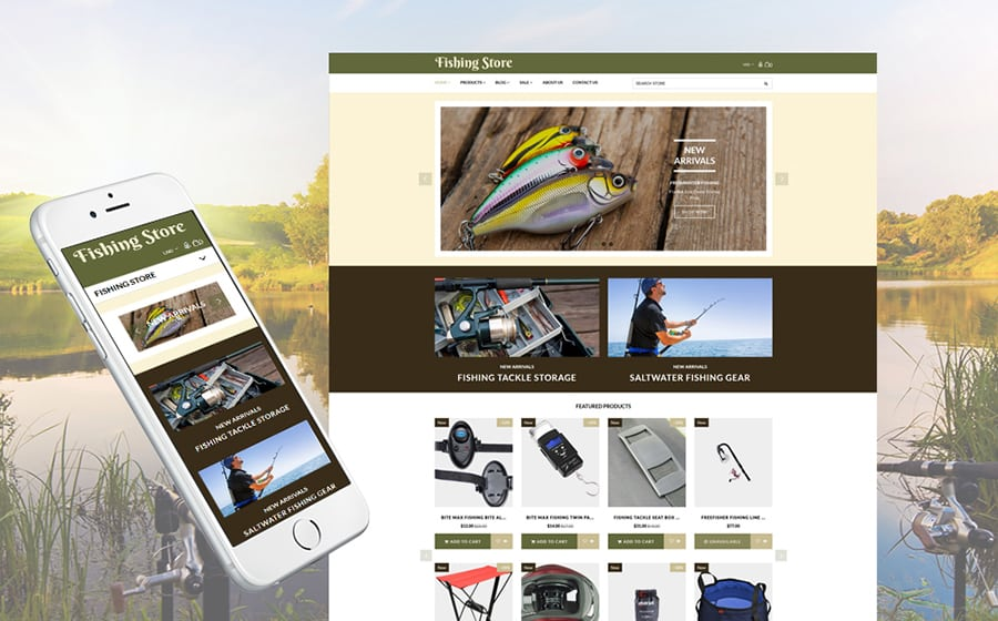 Fishing Store Shopify Theme