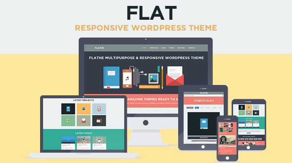 Best Flat WordPress Themes 2018