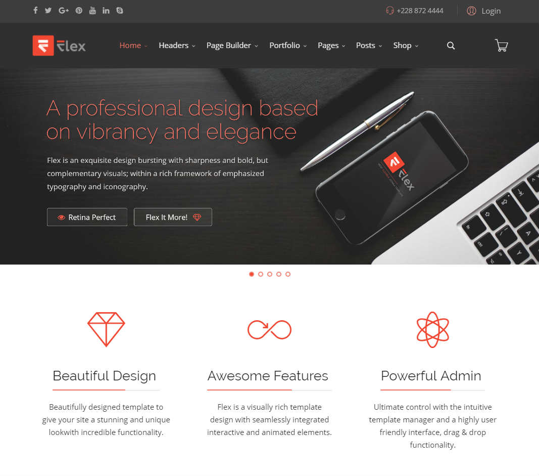 Flex Joomla Template