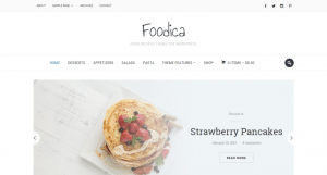 Foodica Food Recipes Theme for WordPress