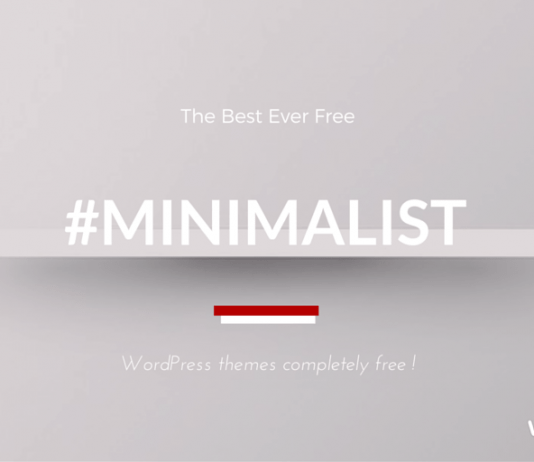 Best Free Minimalist WordPress Themes 2019