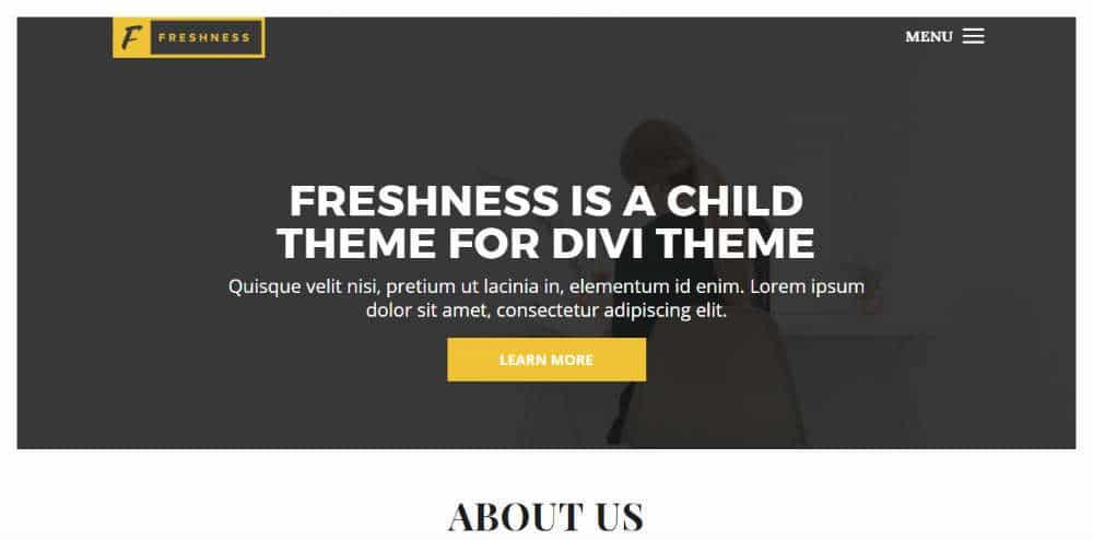 Freshness Theme
