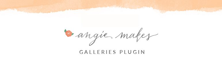 Galleries by Angie Makes Plugin