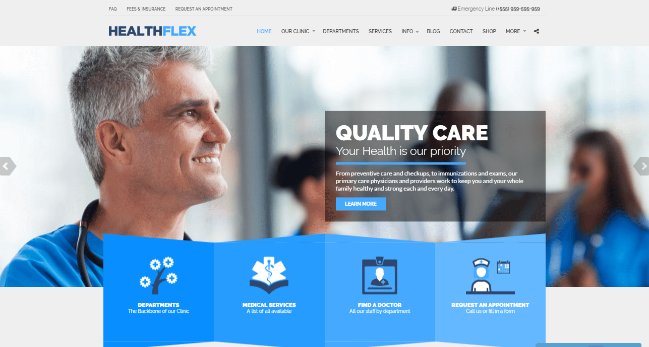 HEALTHFLEX Theme