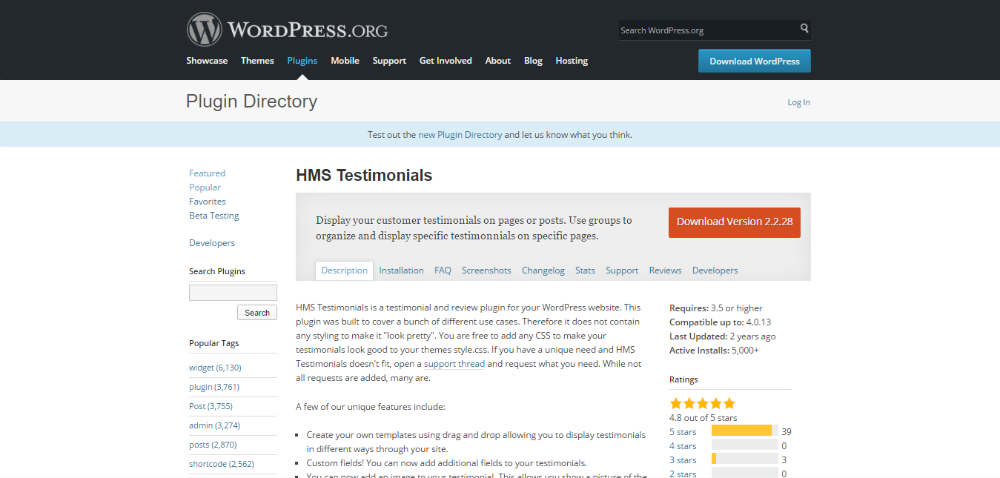 HMS Testimonials
