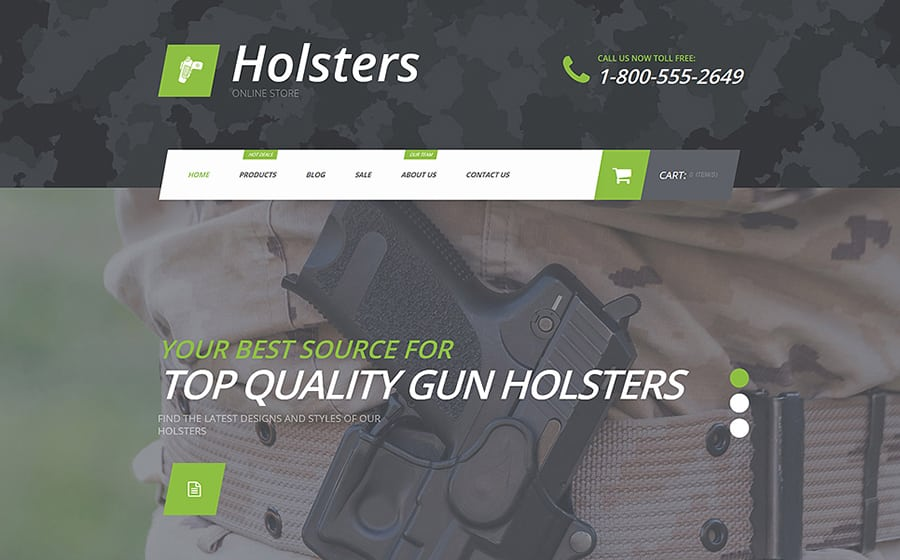 Holsters Shopify Theme