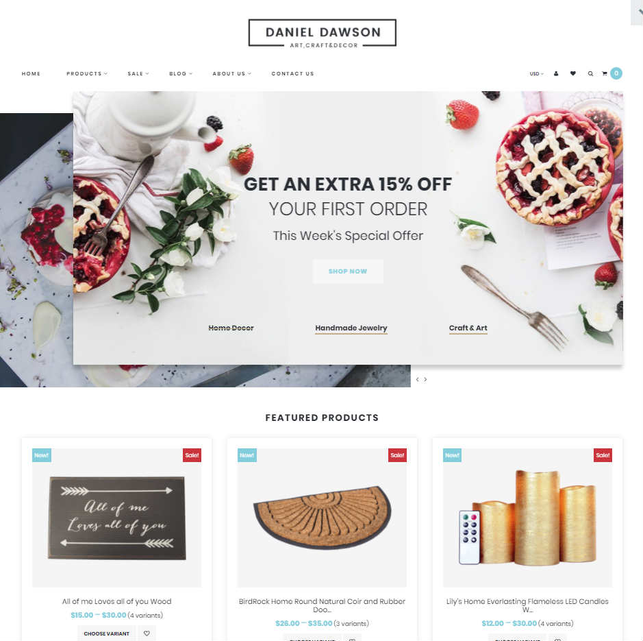 Home Décor Shopify Theme