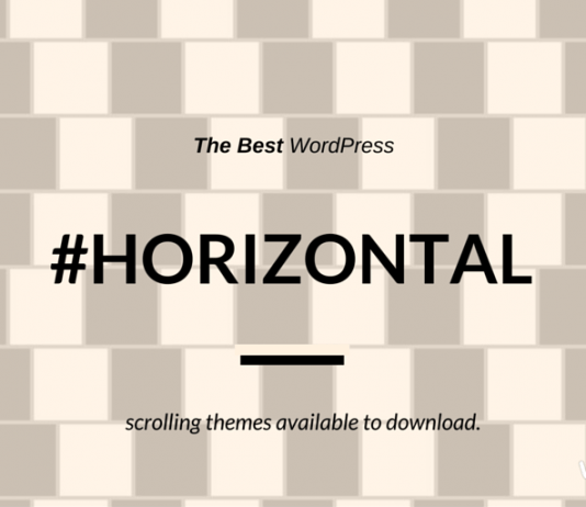Best Horizontal Scrolling WordPress Themes (2019 Compared)